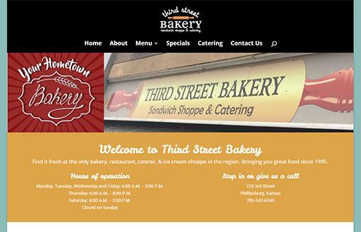 Third Street Bakery portfolio picture