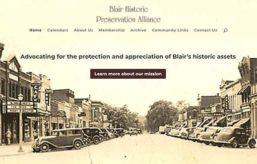 Blair Historical Preservation Alliance portfolio picture