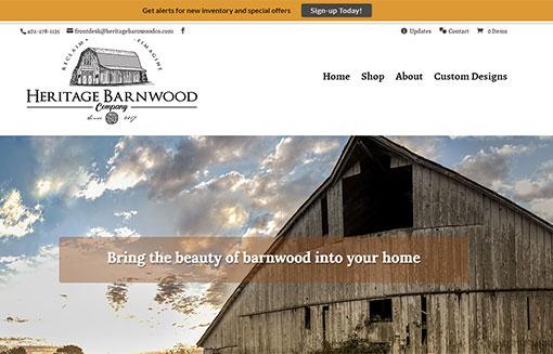 Heritage Barnwood Company portfolio picture
